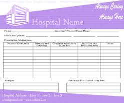 Medical Templates For Word Printable Prescription Form Template Download Medical Prescription 1