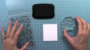 how to use <b>clear</b> stamps - YouTube