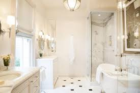 traditional bathroom lighting ideas white free standin. Traditional Spa Bathroom With Marble Flooring | Kari McIntosh Dawdy HGTV Lighting Ideas White Free Standin I