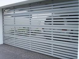 slatted doors. Aluminium Slatted Door Doors