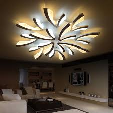 neo gleam acrylic thick modern led ceiling lights for living room business card inch sheets