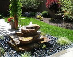 ideas of modern small contemporary landscape fountains patio fountain ideas of water modern garden amusing contemporary