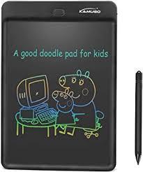 KAMUGO <b>LCD Writing Tablet 10 Inch</b> Writing Board Multi Color ...