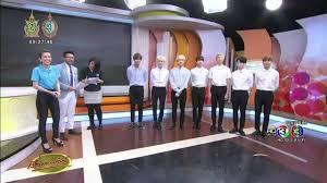 เรื่องเล่าเช้านี้ 7 หนุ่ม BTS ยกทัพเยือนครอบครัวบันเทิง ก่อนจัดเต็มใน '2016  BTS LIVE in Bangkok' - YouTube