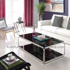 living room furniture glass top tea table