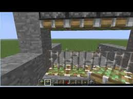 How to Build an Iron Gate in Minecraft YouTube