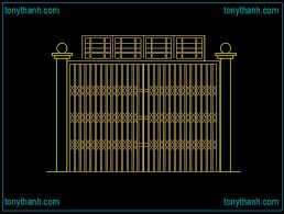 folding door steel sliding gate elevation autocad drawing sample security slide door cad block