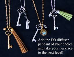 diy skeleton key necklace