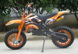 50cc kxd01 mini pro off road dirt bike with full suspension in