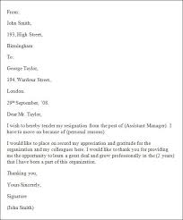 Resign Letter Format In Word Formal Resignation Letter 16 Free Documents In Resignation