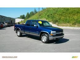 2000 Chevrolet Silverado 1500 Z71 Extended Cab 4x4 in Indigo Blue ...