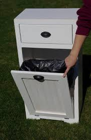 Kitchen Cabinet Garbage Can Tips Trash Can Inside Cabinet Diy Trash Can Cabinet Tilt Out