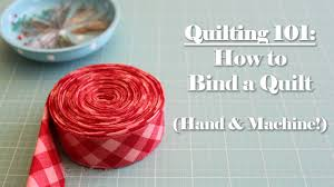 Quilting 101: How to Bind a Quilt - YouTube & Quilting 101: How to Bind a Quilt Adamdwight.com