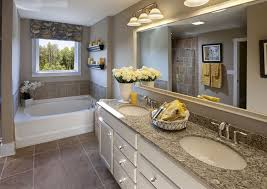 master bathroom decorating ideas. Gray Mosaic Marble Wall Bath Panels Master Bathroom Design Ideas Contemporary Single White Concrete Sink Full Tile Decorating Walk In Shower Chrome I
