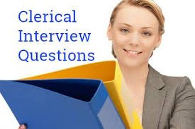 Hr Assistant Interview Questions Clerical Interview Questions And Answers