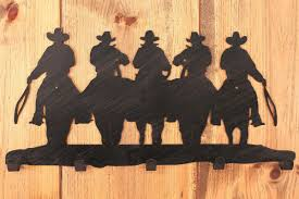 Cowboy Coat Rack Iron Cowboy Coat Rack 52