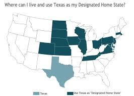 Texas Designated Home State License