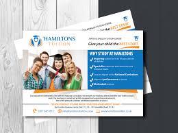 Flyer Designers Uk Bold Professional Business Flyer Design For Hamiltons