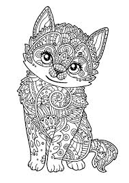 You can print or color them online at getdrawings.com for absolutely free. Cat For Kids Little Kitten Cats Kids Coloring Pages