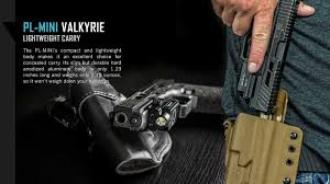 Đèn pin gắn súng Olight PL-MINI Valkyrie hỗ trợ quân sự chuyên nghiệp
