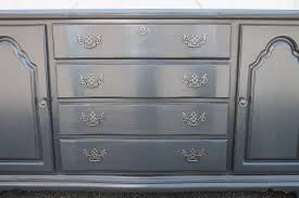 charcoal paint colorElizabeth  Co Charcoal Gray Buffet