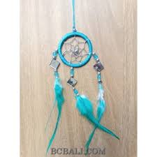 How To String Dream Catcher nylon string dream catcher keyrings with cutting glass turquoise 72