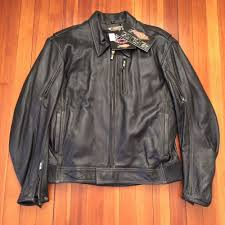 details about new with tags 299 powertrip supercharger black leather jacket size 2xl l