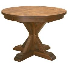 alameda pedestal table