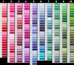 Fashion Colour Chart Color Chart Buy Pakistani Fashion Dresses Pakistani