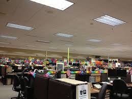 plano tx usaa photo of office starting to decorate for fiesta