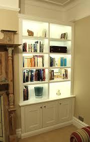 lighting for bookshelves. Outstanding Bookcase Lighting Pics Decoration Inspiration For Bookshelves