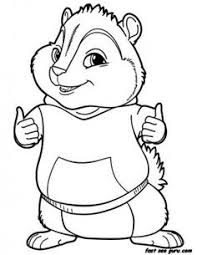 Small Picture alvin and the chipmunks coloring pages for kids Ideas for the