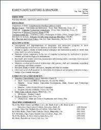 Resume Examples Of Skills And Abilities Resume Qualification Sample