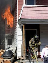 arson charged in blaze at home times union firefighters work to knock down a stubborn fire at 22 mynderse street wednesday afternoon oct