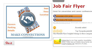 5 Career Fair Flyer Templates | AF Templates