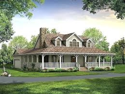 simple ranch house plans with wrap around porch affordable home style