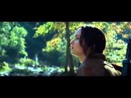 the hunger games mockingjay part katniss and gale go hunting  the hunger games mockingjay part 1 katniss and gale go hunting