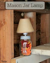 mason jar diy lamp darice main 1
