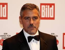 George Clooney Short Side Part George Clooney Hair Lookbook
