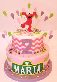 Max Elmo Birthday Cake