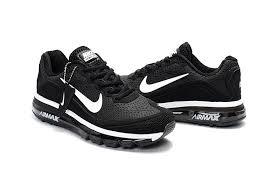 popular nike air max 2017 5 kpu black white men s women s running shoes sneakers 898013 001