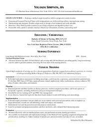 Free Nursing Resume Templates Or Graduate Nurse Resume Examples