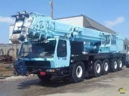 Grove Gmk 6200 Load Chart Cranes Material Handlers All Terrain Krupp Kmk 5175 For