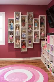 customizable collectible doll display cases