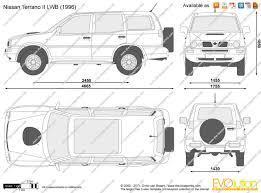 The-Blueprints.com - Vector Drawing - Nissan Terrano II LWB