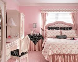 Pink Teenage Girl Bedroom Furniture With Pink Wall Paint Colors