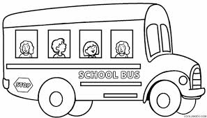 Small Picture Bus Coloring Pages For Toddlers Coloring Pages