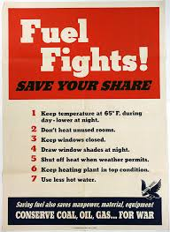energy conservation during wwii the gilder lehrman us government printing office ldquofuel fights save your share rdquo 1943