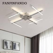 top 10 new modern led chandelier for living room bedroom dining room aluminum indoor home