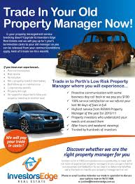 trade in your old perth property manager investors edge real estate investor edge property manager flyer hi res 800width1 trade in your old perth property manager